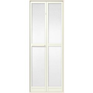 LIXIL トステム 浴室中折 ドア SF型 外付型 本体障子のみ商品 樹脂パネル入 完成品 W750mm×H2000mm|clair