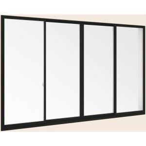 サーモスL 引き違い 送料無料カード決済可能 4枚建て Low-E複層ガラス仕様 特注サイズ W:3 001〜3 600mm ファクトリーアウトレット アルミ樹脂複合 H:971〜1 370mm トステム × TOSTEM LIXIL リクシル