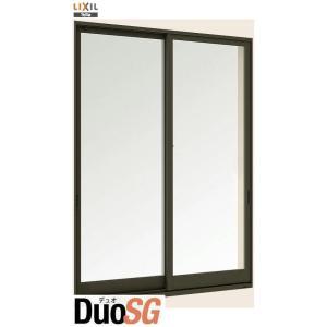 デュオSG 単板ガラス 引違い窓 2枚建 単体 サッシ 半外付型 呼称 16518 W:1690mm×H:1830mm LIXIL リクシル TOSTEM トステム|clair