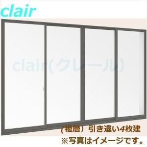 デュオPG 複層ガラス 引違い窓 4枚建 定番の人気シリーズPOINT(ポイント)入荷 単体 サッシ 外付型 呼称 276184 トステム 永遠の定番モデル × 765mm H:1 W:2 LIXIL リクシル TOSTEM 802mm