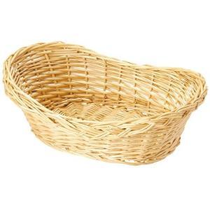 山下工芸(Yamasita craft) 柳舟型バスケット32 33682000|clairdelune9126