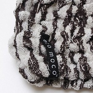 ecomoco モコモコアニマルヘアーバンド 4.Zebra-black MOAHB-04 clairdelune9126