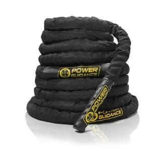 POWER GUIDANCEジムロープ?バトルロープ?トレーニングロープ? (38mm*2.9m)