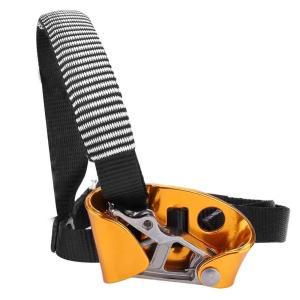 左足 右足 アセンダ アセンダー 固定ロープ 懸垂下降 サイズ調整可?登山 登高 クライミング 安全保護 登山装置(右足) 条件付き 送料無料