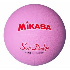 ミカサ ソフトドッジボール2号 軽量190g ピンク 日本ドッジボール協会推薦球 小学校用 STD-2R P 送料無料 条件付き 送料無料