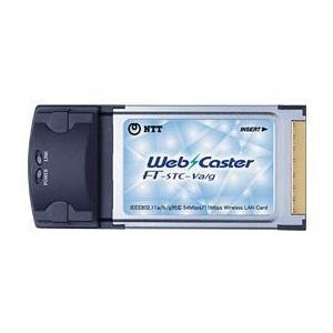 NTT西日本 NTT西日本 Web Caster FT-STC-Va/g /無線LANカード802.11g/a/b対応 Web C 条件付き 送料無料