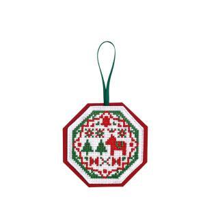 セット内容:25番刺繍糸、刺繍布(オリムパスNo.8300布インディアンクロス)、フェルト、サテンリ...