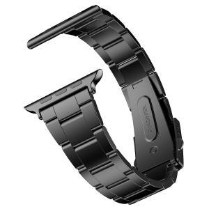 ステンレス留め金製のApple Watch用バンド、対応機種:44mm/42mm Series 4/...