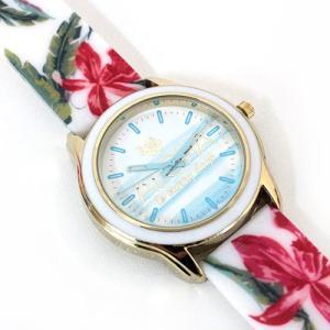 腕時計 時計 Kahiko アロハカラーウォッチ 花柄 雑貨 可愛い おしゃれ リゾートファッション|clara-hawaii