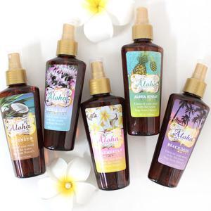 ハワイ 雑貨 Kahiko ハワイアンボディミスト ボディ用化粧水 ギフト プレゼント|clara-hawaii