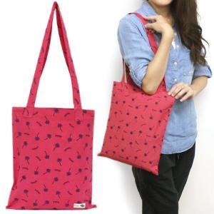 トート バッグ 袋 小物入れ 可愛い かわいい Kahiko ジョーイトート バッグ ハワイアン雑貨 ホワイト グリーン ピンク ブルー|clara-hawaii