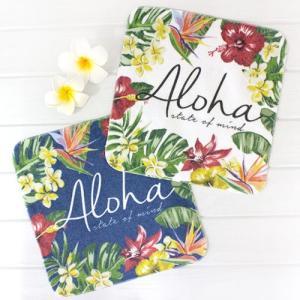 ハワイ ハンドタオル ボダアロハ ハンカチ タオル パイナップル 雑貨 可愛い プチギフト|clara-hawaii