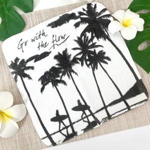 ハワイ ハンドタオル リデニ ハンカチ タオル パイナップル 雑貨 可愛い プチギフト|clara-hawaii