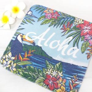 ハワイ ハンドタオル ウィンド ハンカチ タオル パイナップル 雑貨 可愛い プチギフト|clara-hawaii
