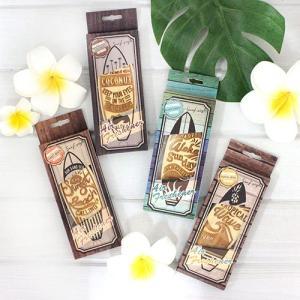 ハワイ 雑貨 Kahiko ウッドサーフ エアフレッシュナー 部屋や車などに ハワイの香り 癒し おしゃれ|clara-hawaii