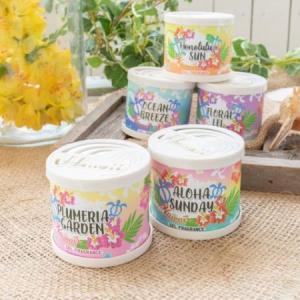ハワイ 雑貨 Kahiko ホヌ ハワイアン GEL フレグランス 缶 ハワイの香り 癒し おしゃれ|clara-hawaii