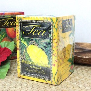 ハワイ お土産 紅茶 ハワイアン アイランド ティー パイナップル・ワイキキ トロピカルブラックティー 1.27oz 36g 20ティパック|clara-hawaii