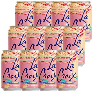 炭酸水 スパークリング LaCroix ラクロワ スパークリングウォーター グレープフルーツ 12缶入り 355ml ノンアルコール|clara-hawaii