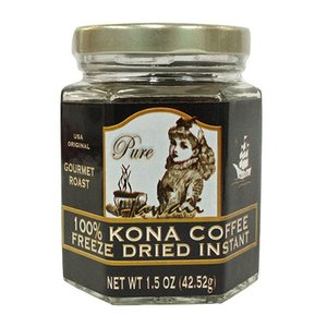 ハワイ お土産 コナコーヒー お歳暮 お中元 マルバディ インスタントコーヒー 瓶 1.5oz 42.52g 100%コナ|clara-hawaii