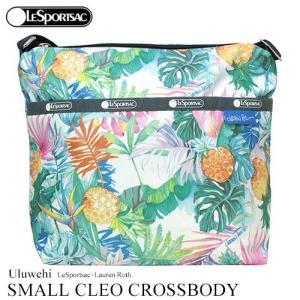 ハワイ バッグ レスポートサック ハワイ限定 ウルヴェヒ Uluwehi スモールクレオクロスボディ 7562 花柄 ショルダー ギフト|clara-hawaii