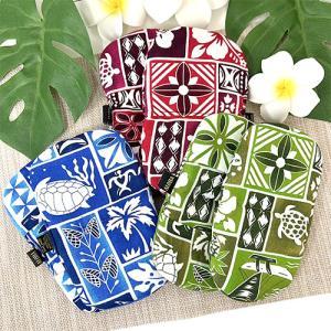 ハワイ 土産 ハワイアンキルト ランチョンマット ハイビスカス ブルー  キッチン インテリア 雑貨 ハワイアン雑貨 ギフト プレゼント 母の日 clara-hawaii