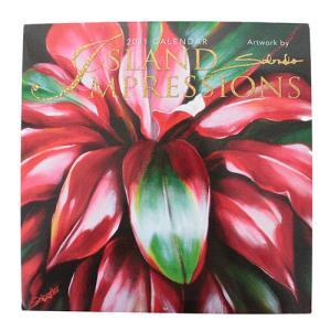 ハワイ カレンダー 2020 インテリア 雑貨 Island Heritage 2020年 ハワイアン DXカレンダー Art of Hula|clara-hawaii