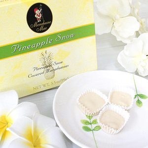 ハワイ お土産 チョコレート お菓子 メネフネ パイナップルスノーチョコレート 3.5oz 9粒入り clara-hawaii