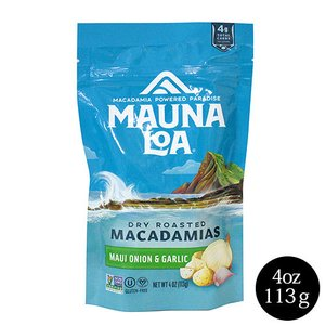 ハワイ お土産 マウナロア マカダミアナッツ マウイオニオン&ガーリック  127g お菓子|clara-hawaii