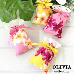 ハワイ フレグランス 香り ハワイアン サシェ オリビアコレクション 3個セット プアマリア ハワイの香り|clara-hawaii