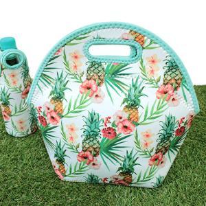 ハワイアン雑貨 おしゃれ ハワイアン柄 ランチボックスバッグ お弁当バッグ パイナップル 可愛い おしゃれ clara-hawaii