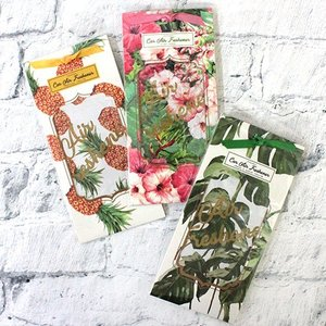 ハワイアン 雑貨 カード型カーフレグランス フレッシュナー 部屋や車などに ハワイの香り|clara-hawaii