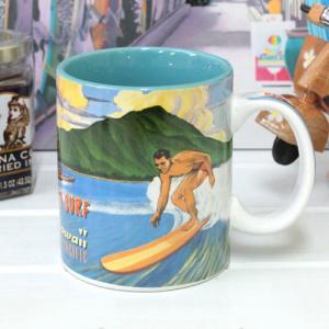 ハワイ 食器 雑貨 可愛い Island Heritage ハワイアンマグカップ 11oz プレイグランドパシフィック コップ カップ ギフト プレゼント お土産|clara-hawaii