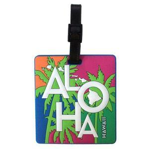 ハワイ ネームタグ 旅行 Island Heritage アイランド ラゲージタグ&IDタグ トロピカルアロハ トラベルタグ|clara-hawaii