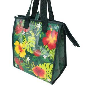 ハワイアン雑貨 保冷バッグ おしゃれ ランチバッグ ハワイ スモール ランチバッグ フローラル モンステラ Island Heritage ネコポス 送料無料|clara-hawaii