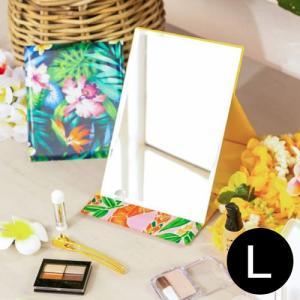 ハワイアン雑貨 ミラー 鏡 maunaloa マウナロア マカナニミラー L ラージ|clara-hawaii
