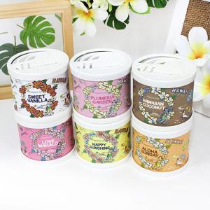 ハワイアン雑貨 芳香剤 Kahiko ジェルフレグランス 缶 ハワイの香り 癒し おしゃれ|clara-hawaii