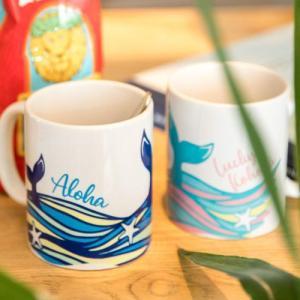 コップ マグカップ 可愛い ハワイ 食器 Kahiko コホラマグカップ ハワイアン雑貨 キッチン ギフト プレゼント|clara-hawaii