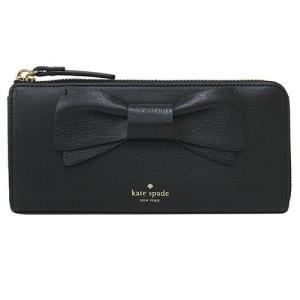 財布 ブラック 黒 kate spade ケイトスペード olive drive 長財布 リボン ギフト プレゼント|clara-hawaii