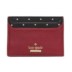 カードケース カード入れ レッド ブラック ギフト プレゼント kate spade ケイトスペード ブレイクストリートドット lynleigh heirloomrd|clara-hawaii