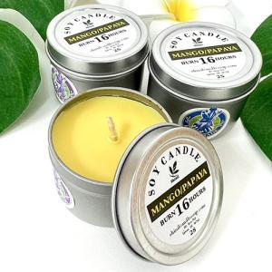 ハワイ キャンドル ハワイアン雑貨 Shinil CANDLE & SOAP ピュア ソイ ティン キャンドル 2oz おしゃれ 癒し|clara-hawaii