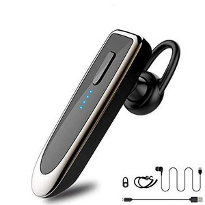 【令和新版Bluetooth5.0】Bluetooth ヘッドセット V5.0 ワイヤレス Banglede マイク内蔵 clartellc