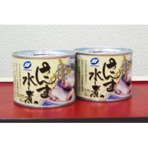 サンマ 缶詰 ・ 水煮 1缶190g 海鮮特産品