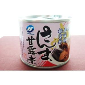サンマ 缶詰 ・ 甘露煮 1缶190g 海鮮特産品