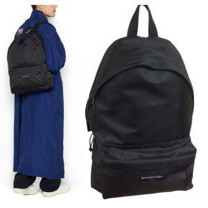 バレンシアガ BALENCIAGAエクスプローラー ロゴモノグラムバックパック ブラック 黒 リュック