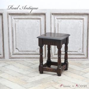 アンティーク サイドテーブル アンティーク家具 スモールテーブル オーク 1940年代 ヴィンテージ レトロ ビンテージ イギリス 英国 antique56760|classic-de-modern