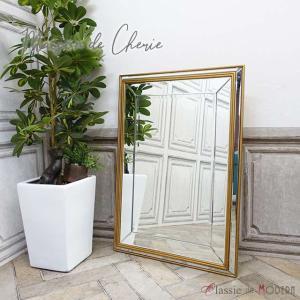 ミラーメゾン・ド・シェリー 壁掛け アンティーク ウォールミラー 鏡 hnm-005|classic-de-modern