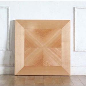 カフェテーブル アンティーク調 ディスプレイ 店舗什器 サイドテーブル用 天板 角型 60cm パーケットリー ナチュラル tb-60s-pq classic-de-modern