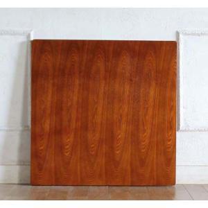 カフェテーブル アンティーク調 ディスプレイ 店舗什器 サイドテーブル用 天板 角型 70cm ライトブラウン tb-70s-21 classic-de-modern