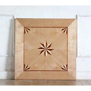 カフェテーブル アンティーク調 ディスプレイ 店舗什器 サイドテーブル用 天板 角型 70cm パーケットリー ナチュラル tb-70s-il classic-de-modern