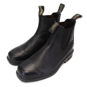 Blundstone ブランドストーン サイドゴア チェルシーブーツ オールウェザー 黒 ボルタンブラック 牛革 UK6 ブーツ  中古 10004070|classic